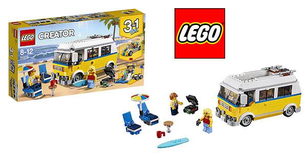 LEGO Creator Furgoneta de playa barata
