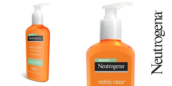 Limpiador facial Neutrogena Visibly Clear Spot Proofing de 200 ml chollo en Amazon