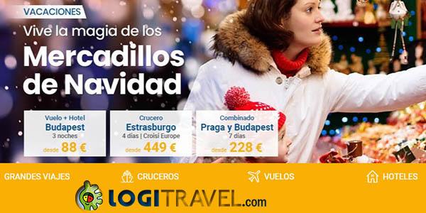 Logitravel viajes a los Mercadillos de Navidad ofertas