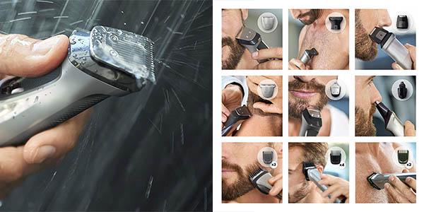 máquina de afeitar Philips MG7730/15 con peines guía relación calidad-preico genial
