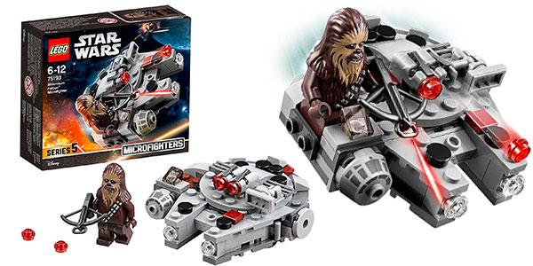 Set Microfighter Halcón Milenario de Lego Star Wars barato
