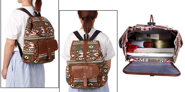 Mochila de lona Vbiger de estilo casual para mujer chollo en Amazon con cupón descuento EJOK78WV