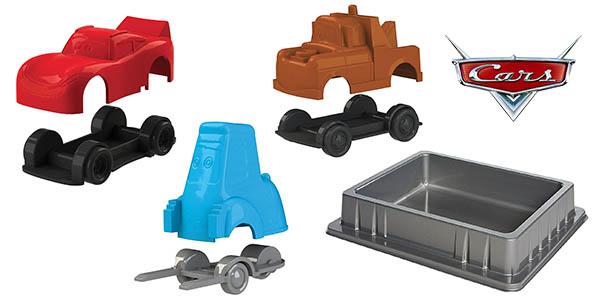 moldes de coches Cars con arena cinética Super Sand oferta
