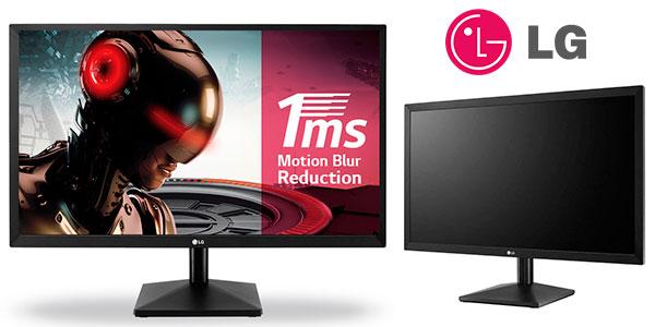 "Monitor gaming LG 24MK400H-B Full HD de 23,8"" barato"