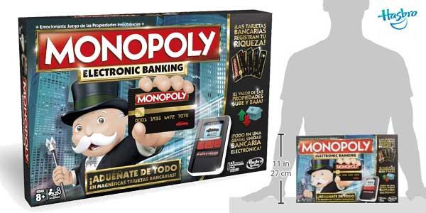 Monopoly Electronic Banking de Hasbro chollazo en Amazon