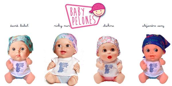 Muñeco Baby Pelón Elsa Pataky y otros famosos de Juegaterapia oferta en Amazon