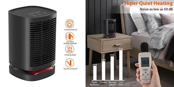 Nexgadget PTC 950W calefactor cerámico barato