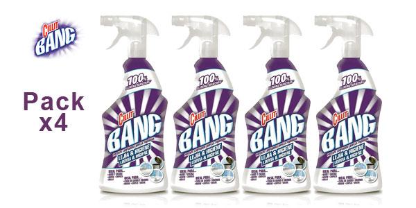 Pack x4 Limpiador en Spray Cillit Bang Potente Lejía e Higiene barato en Amazon