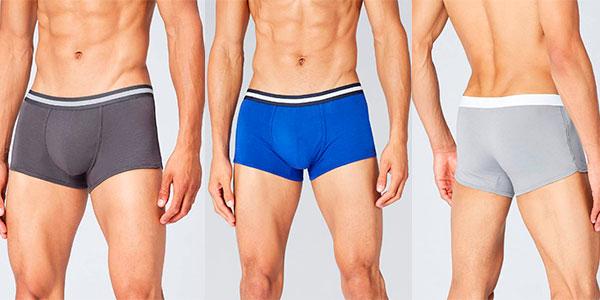 Pack de 5 boxers básicos Find para hombre en varios modelos barato