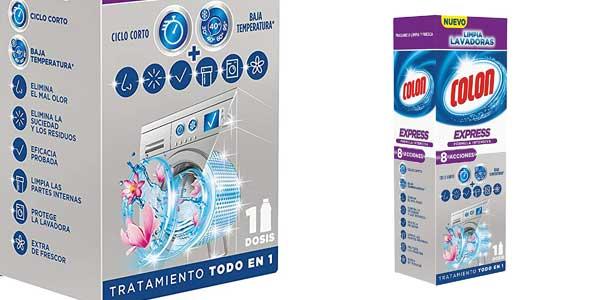 Pack 6 paquetes x250 ml Colon Limpialavadoras Express chollo en Amazon