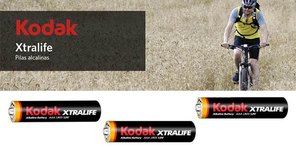 pack pilas Kodak Xtralife AAA larga duración oferta