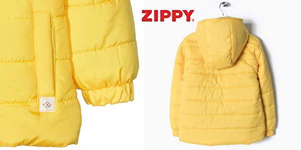 Parka acolchada infantil Zippy chollazo en Amazon