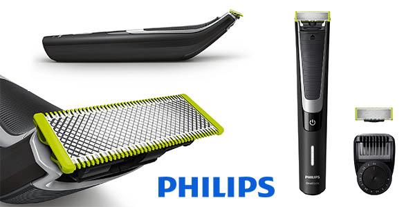 Philips OneBlade Pro QP6510/60 barbero eléctrico barato