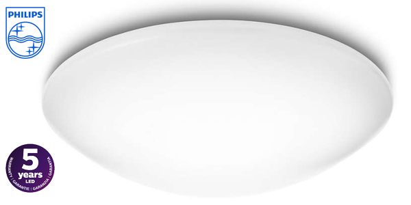 Plafón LED Philips myLiving Suede 318033116 barato en Amazon
