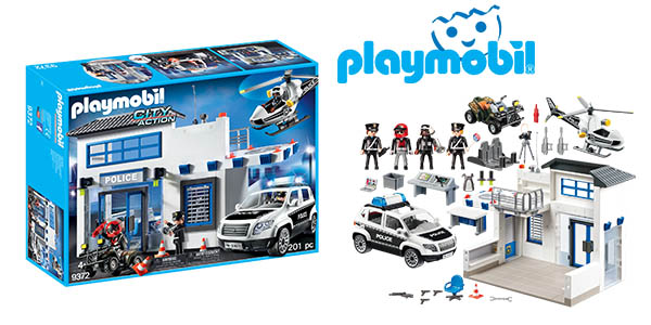 Playmobil City Action Set de policía barato