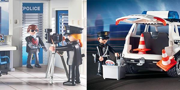 Playmobil Policía Mega comisaría con figuras chollo Amazon