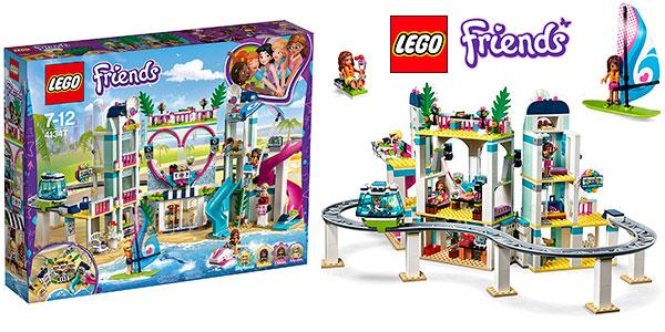 Playset Resort Heartlake City de LEGO Friends con 5 minifiguras barato