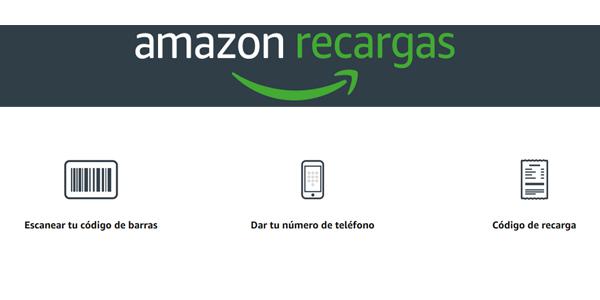 Promoción bono 5€ en Amazon al comprar tarjeta recarga de 25€ en tienda