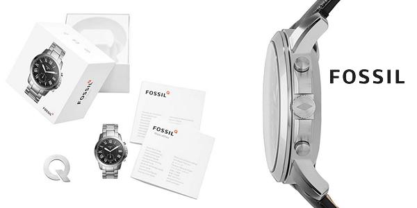 Reloj analógico Fossil Q FTW1157 2018 para hombre chollazo en Amazon