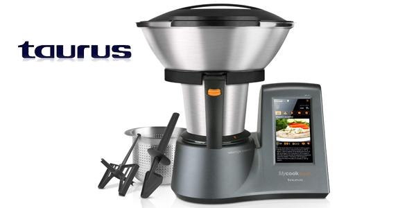 Robot de cocina inteligente Taurus Mycook Touch 1600 W y con wifi barato en Amazon