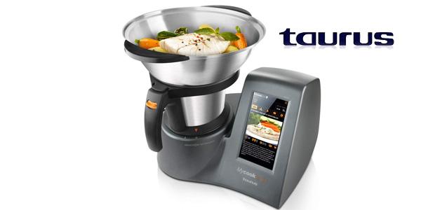 Robot de cocina inteligente Taurus Mycook Touch 1600 W y con wifi chollazo en Amazon