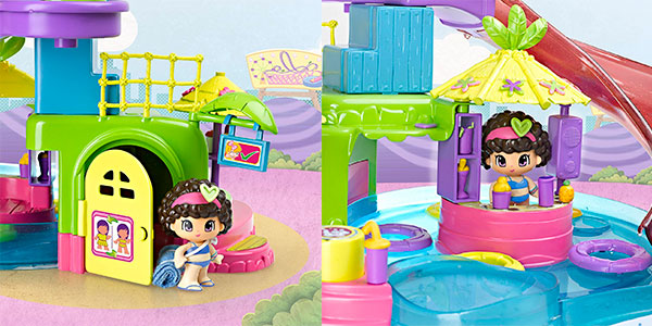 Set Aquapark de Pinypon con una minifigura barato