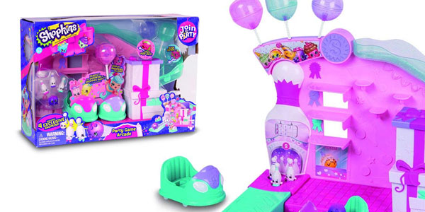 Shopkins playset party game arcade barato
