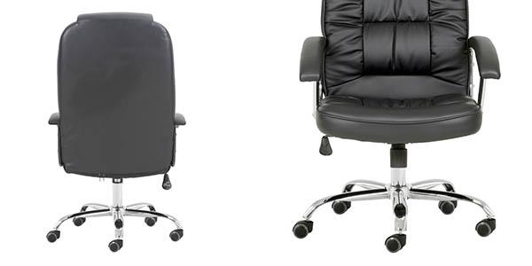 sillón oficina imitación cuero gran relación calidad-precio