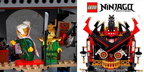 Templo de la Resurrección de LEGO Ninjago con 7 minifiguras barato