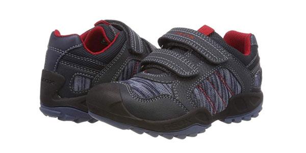 Zapatillas infantiles Geox J New Savage Boy C al mejor precio en Amazon