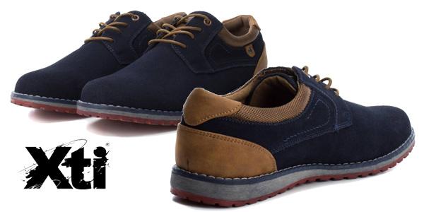 Zapatos de piel Xti Adiel para hombre chollazo en eBay