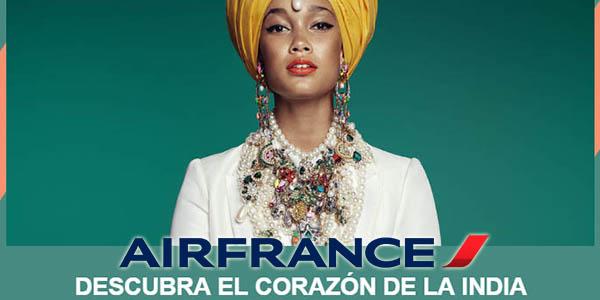 Air France ofertas en vuelos a La India diciembre 2018