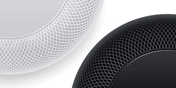Altavoz Inteligente Apple HomePod en color blanco o negro