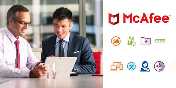 Antivirus McAfee Total Protection 2019 para 10 dispositivos barato
