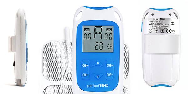 aparato de electroestimulación TensCare Perfect TENS con programas antidolor chollo