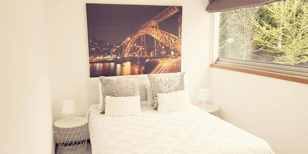apartamento para viajar en pareja a Oporto relación calidad-precio genial