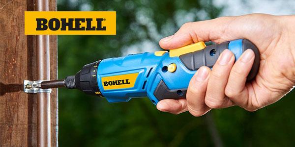 Atornillador sin cable Bohell AT36LI de doble posición y 180 rpm, con 3,6 V chollazo en Amazon