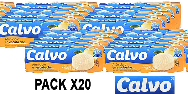 atún en escabeche Calvo pack ahorro Amazon