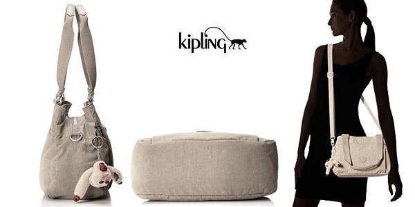Bolso de mano Kipling Orelie para mujer chollazo en Amazon