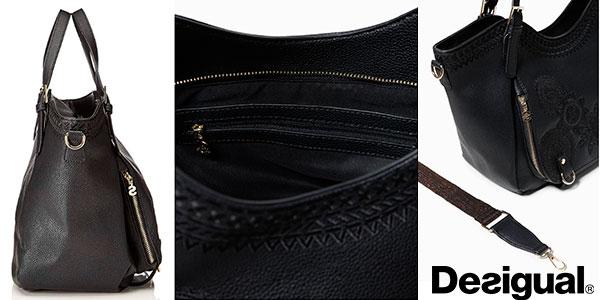 Bolso shopper Desigual Dark Amber Rotterdam barato