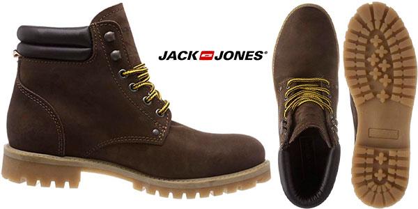 Botas Jack & Jones de nobuk para hombre baratas