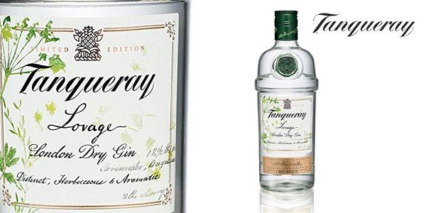 Botella Tanqueray Lovage Gin edición limitada 1000 ml barata en Amazon