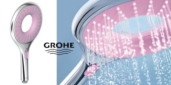 Cabezal de ducha Grohe Rainshower Icon 150 Pink barato en Amazon