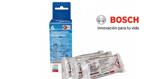 Caja de 6 Pastillas descalcificadoras para máquinas de café Bosch 00311556 baratas en Amazon