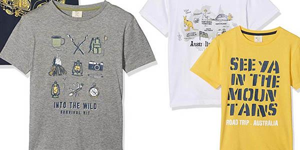 camisetas de manga corta para niñ@s Zippy con gran relación calidad-precio