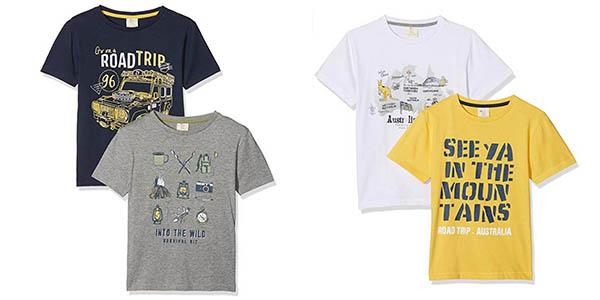 camisetas infantiles Zippy baratas