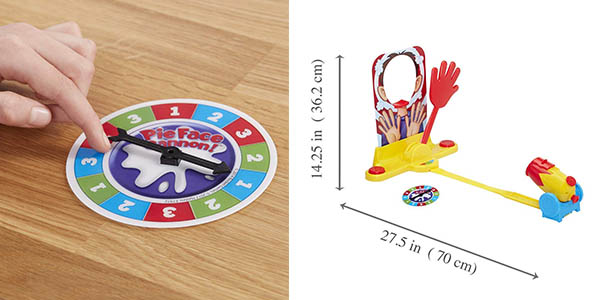 Cara Splash Boom juego para niñ@s lanza nata oferta
