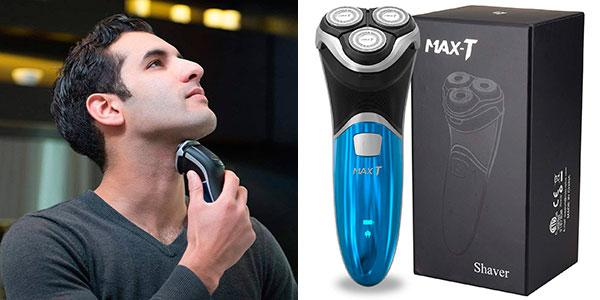 Chollo Afeitadora eléctrica MAX-T RMS6101 impermeable
