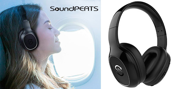 Chollo Auriculares SoundPEATS A2 con Bluetooth 4.1 y micro