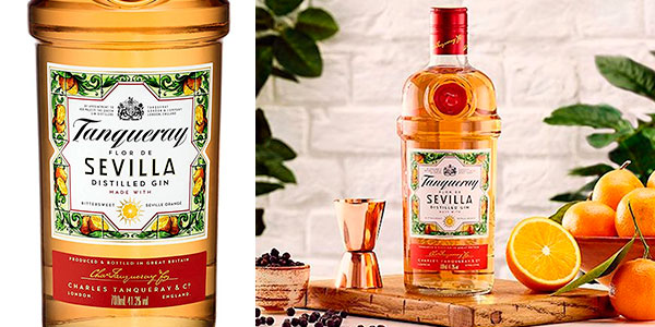 Chollo Ginebra Tanqueray Flor de Sevilla Edición Limitada de 700 ml